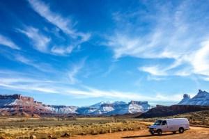 Castle Valley Utah VanLife