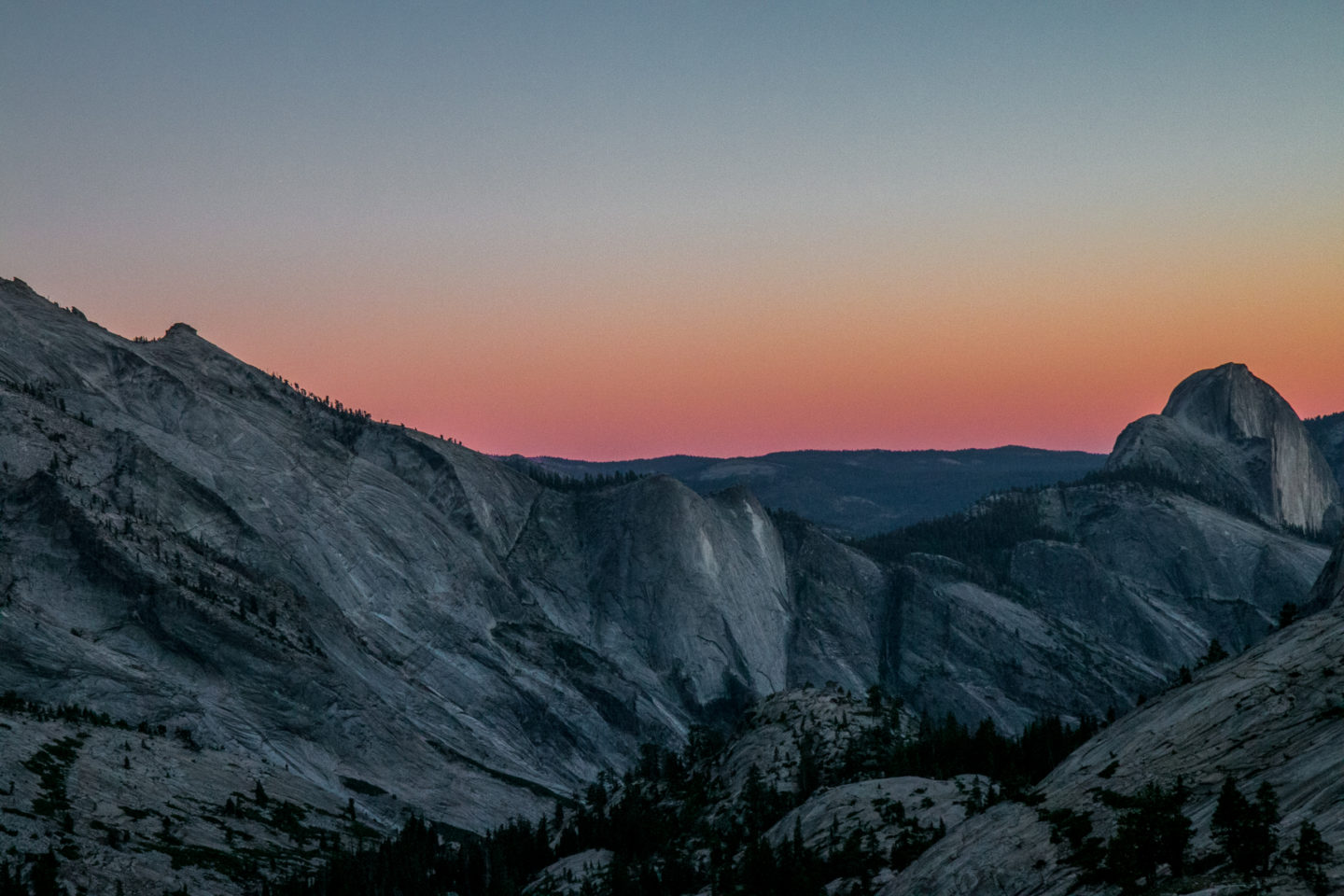 Half Dome Sunset David Sandel