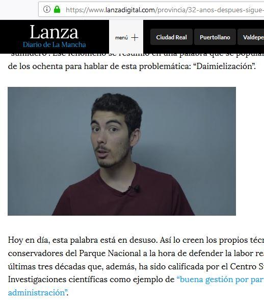 Primera colaboración con Lanza