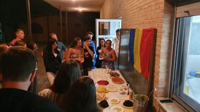 En la noche intercultural rumana