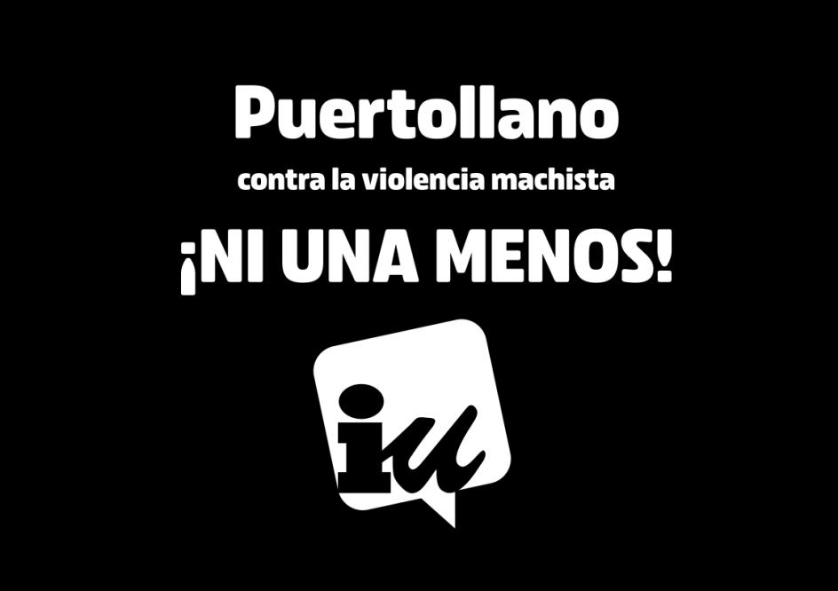 Puertollano contra la violencia machista. ¡Ni una menos!