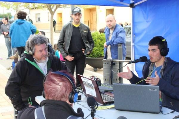 Retransmitiendo en directo la VI Marcha hacia Villar de Cañas