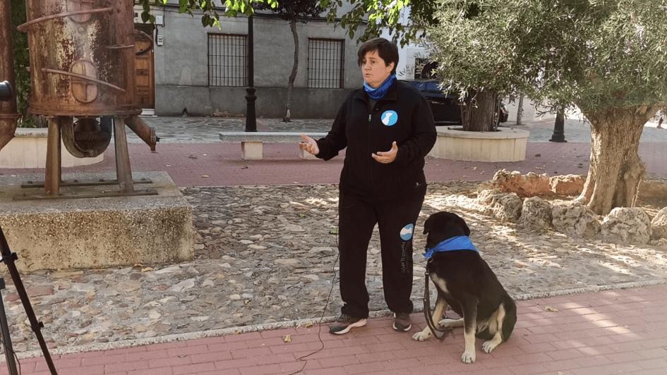 Grabando con Perros de Apoyo en Picón