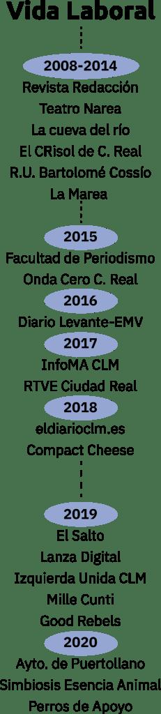 Vida laboral de David Sánchez Romero de Ávila