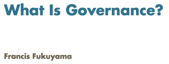 This Week in Transparency: What is Governance?