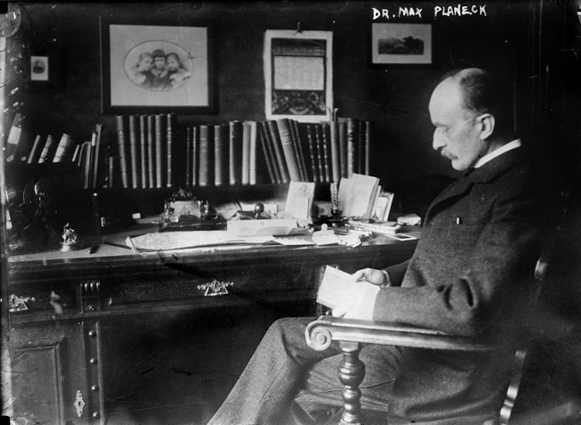 Max planck 1858 1947 german physicist everett