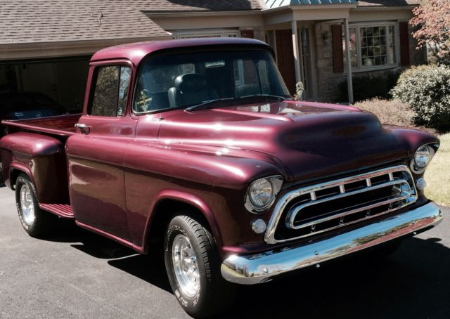 1957 Chevrolet Truck Full Colored Wiring Diagram Classic Industries