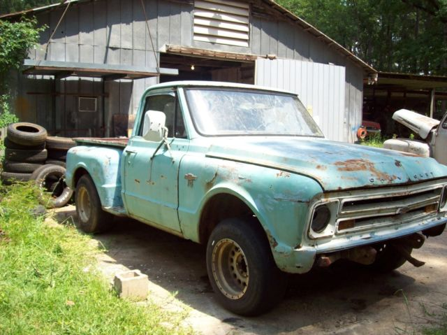 1967 Chevy C10 shortbed project truck for sale - Chevrolet C-10 1967 for sale in Jonesboro. Louisiana. United States