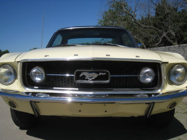 1967 Mustang Fog Lights