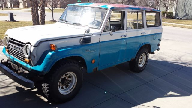 1969 Toyota Land Cruiser Parts