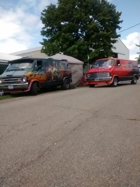 1975 Dodge Van : dodge, Dodge, Survivor, *VIDEOS*, Belleville,, Illinois,, United, States