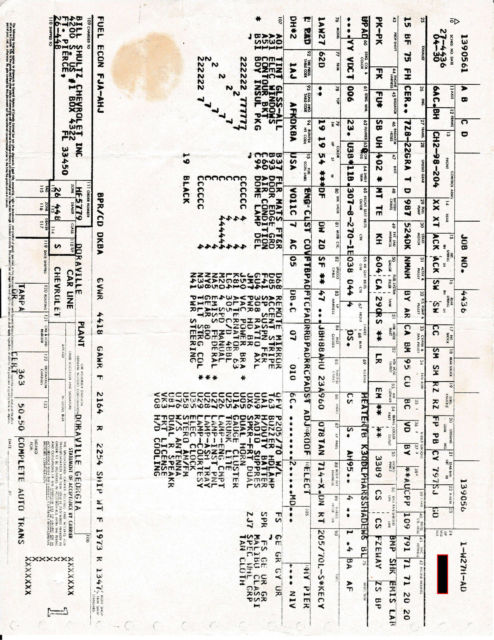 1980 Chevrolet Malibu Classic Sport, Factory 4 Speed, 1 of