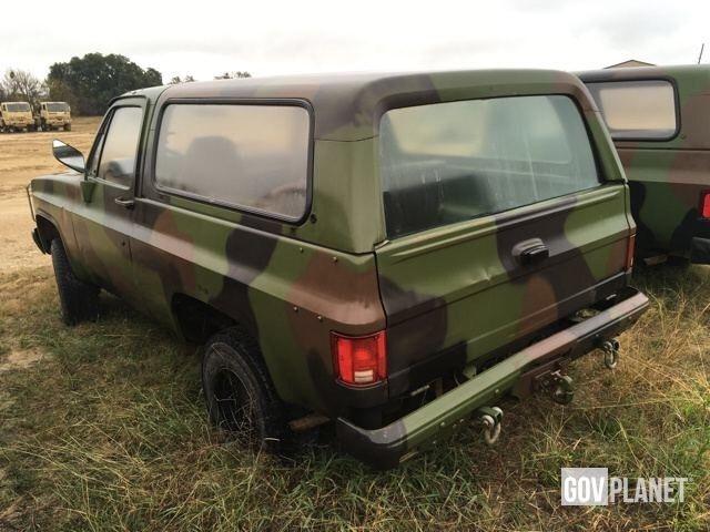 Chevrolet Blazer K5 M Cucv No Reserve For Sale