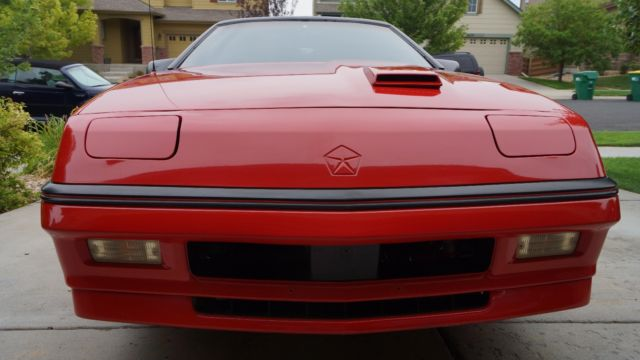 1987 Dodge Daytona Tan Color