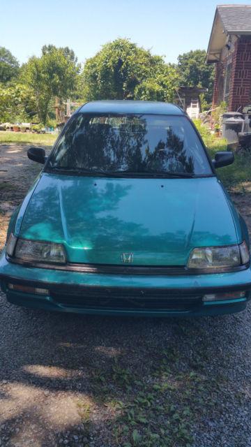 91 Honda Civic Dx : honda, civic, Honda, Civic, Lexington,, North, Carolina,, United, States