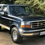 1992 Ford Bronco Eddie Bauer 5 8l 4 X 4 Automatic Transmission For Sale Ford Bronco Full Size 1992 For Sale In Kingsburg California United States