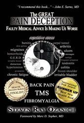 Steve Ozanich's Book on Dr Sarno - Mind-Body Connection-Healing Back Pain-Mind Over Back Pain-Dr Sarno Method