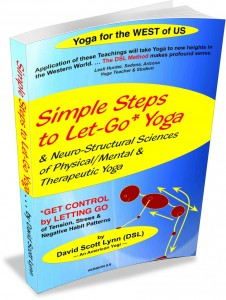 Front cover for Simple Steps to Let-Go Yoga e-book