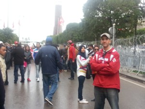 Tunisia Security Update Onsite Feb 23 Protest