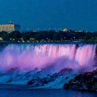 Falls Light Show