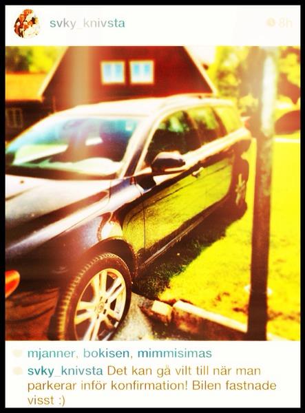Felparkerad bil (inte min)