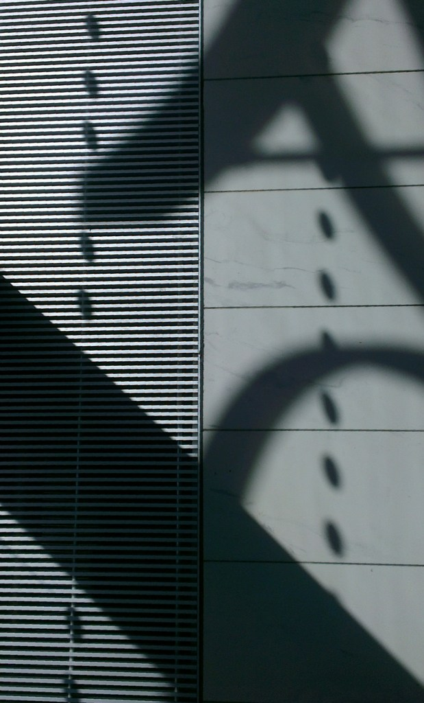Shadows in the new Library of Birmingham
