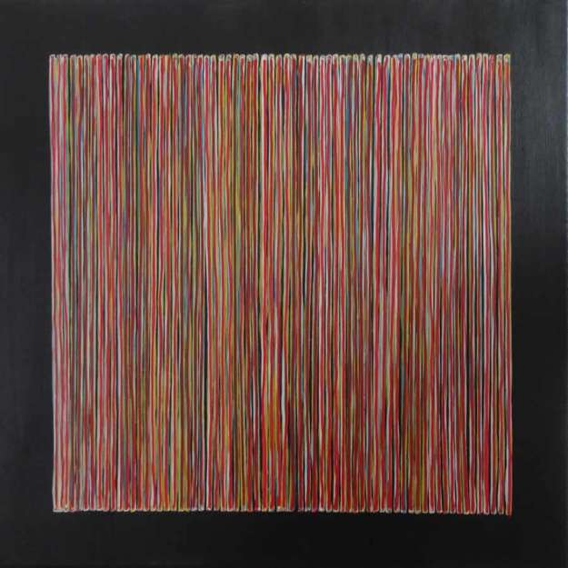 Abstract painting by David Smith