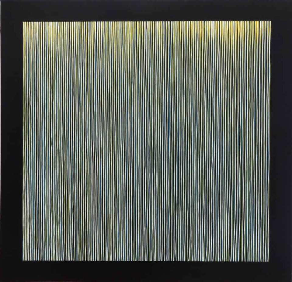 """Crazy Music"" - acrylic on canvas by David Smith"