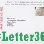 Front of #Letter365 envelope