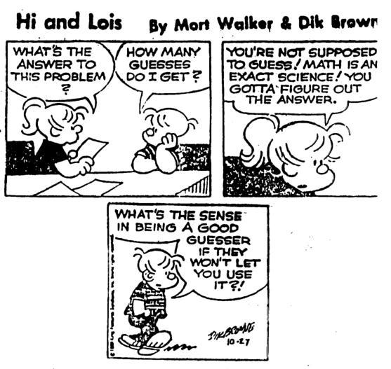davidsonmath / Math Cartoons