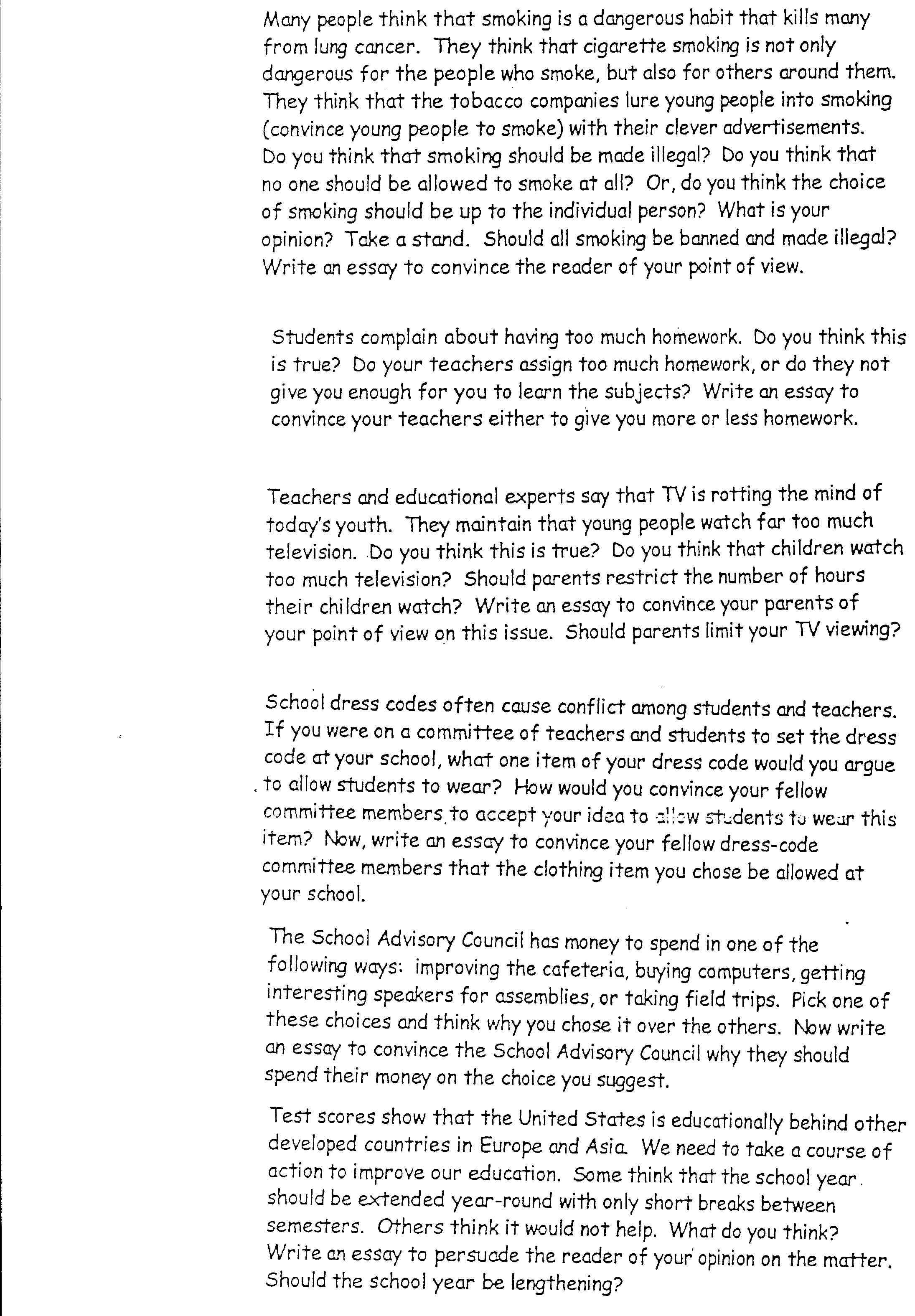 Year Round School Essay Year Round School Persuasive Essay