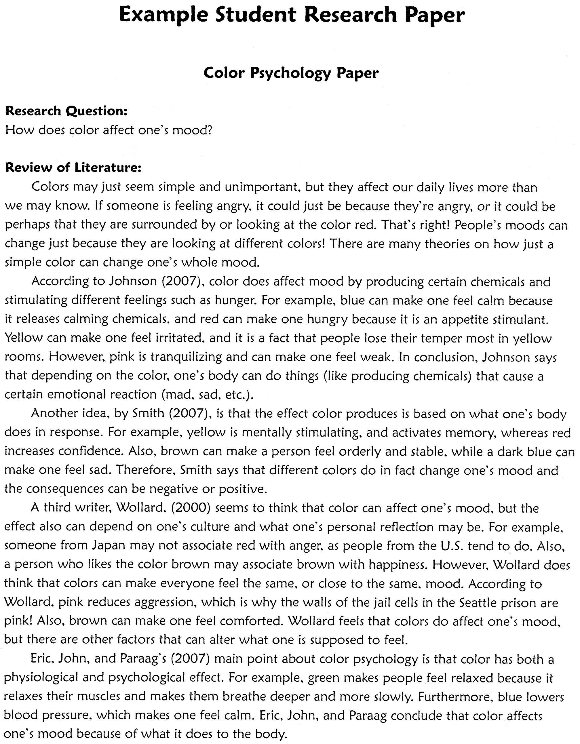 Research Paper In Science Best Writing Company