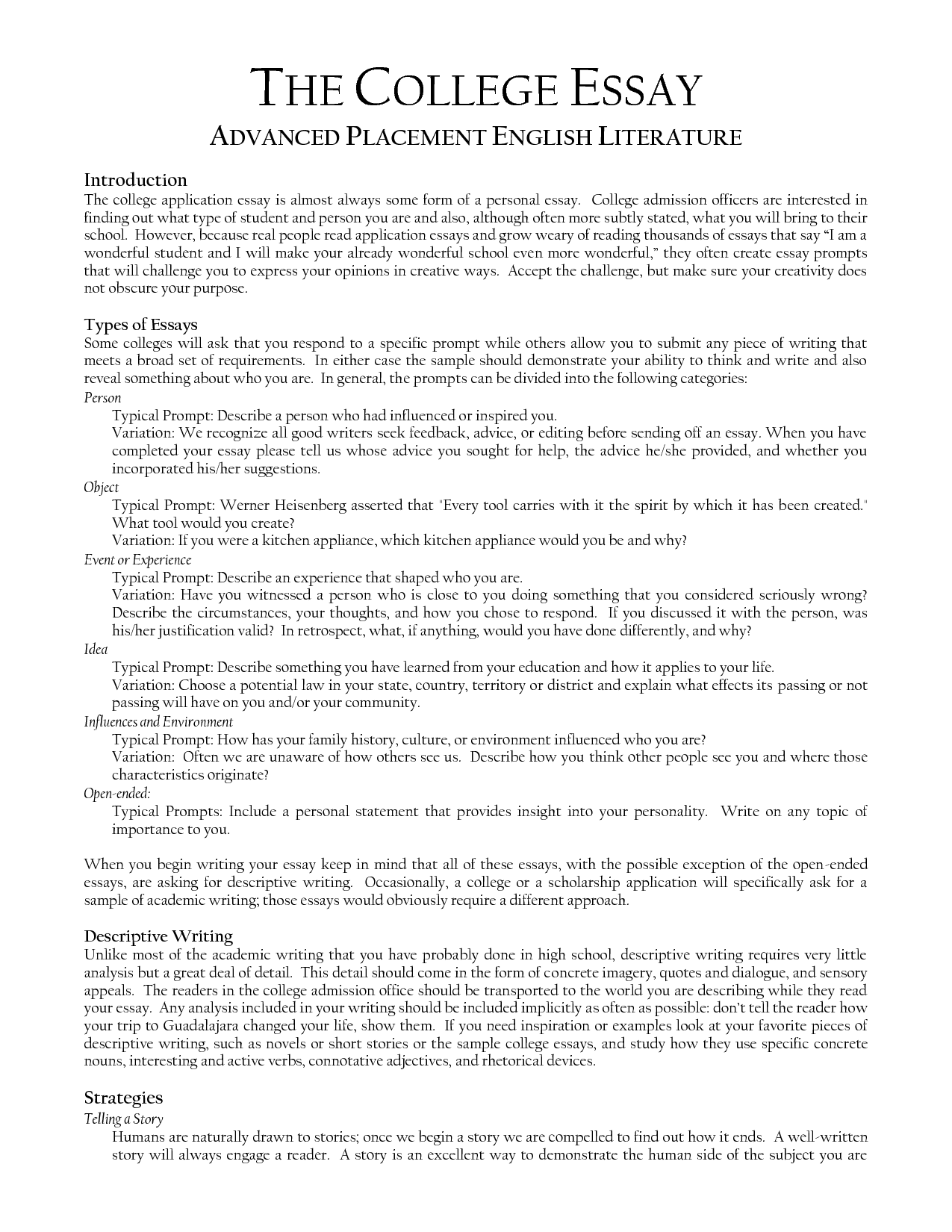Example Essay Papers Science And Technology Essay Essay Papers