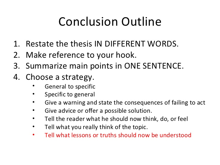Conclusion On A Research Paper Custom Writing Company