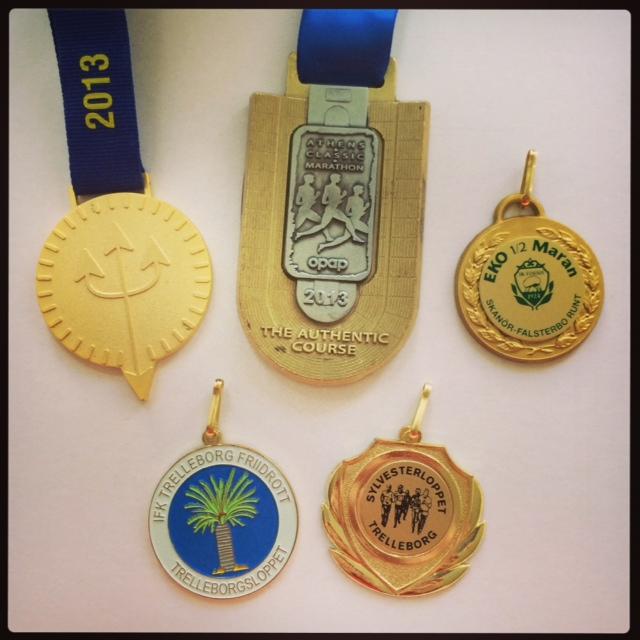 Årets medaljer!