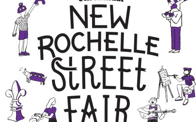 Join Me at the New Rochelle Street Fair 9/9/18!