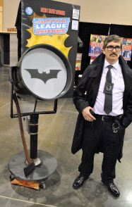 First Jim Gordon I've seen at one of these cons.