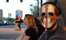 Waiting for the Zombie Walk