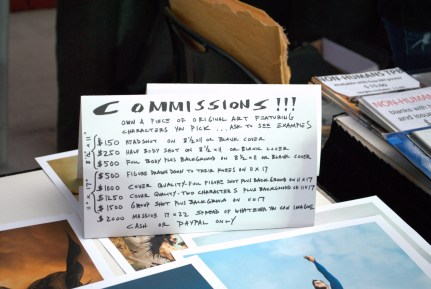 Jae Lee's pricing for commissions.