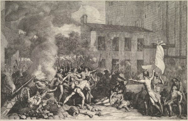 Charles Venin Storming Of Bastille 14 July