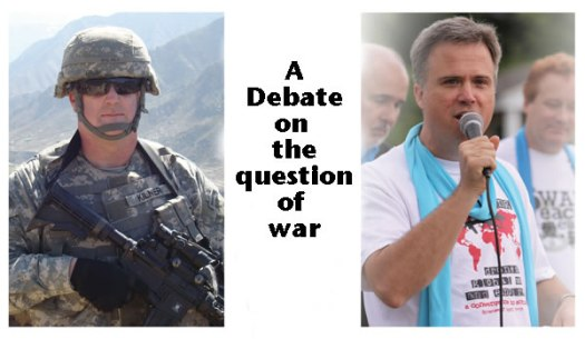 Video of Debate on Is War Ever Justifiable?