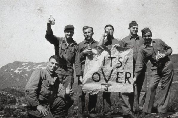 """Attu, Alaska - """"It's Over"""" - VJ Day"""