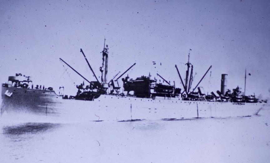 Attu, Alaska - The good ship Chirikof