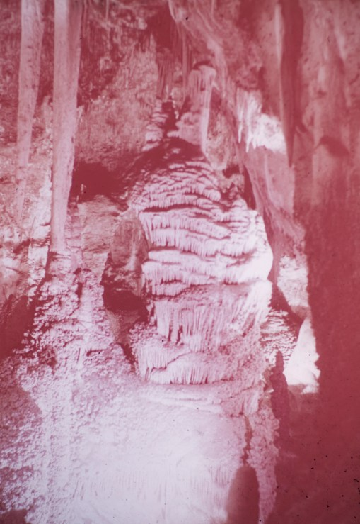 Carlsbad Caverns - Frozen Waterfall