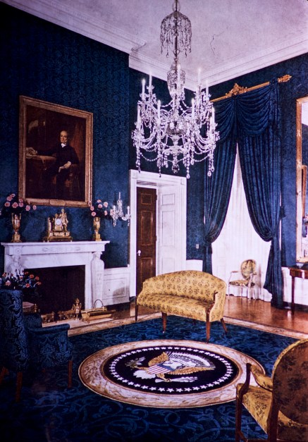 White House - Green Room After Restoration