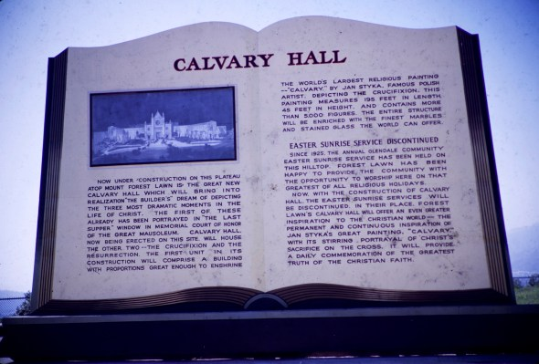 Forest Lawn - Calvary Hall