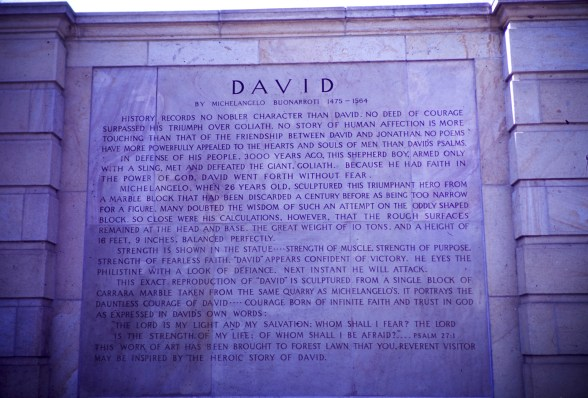 Forest Lawn - Court of David