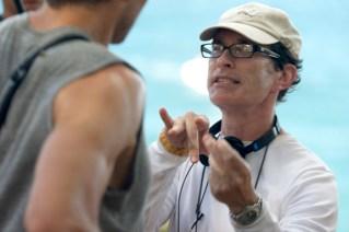 David Twohy directing Tim Olyphant.