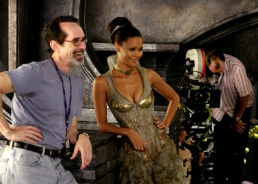 With Thandie Newton.