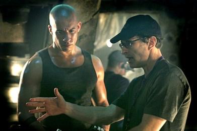 With Vin Diesel.
